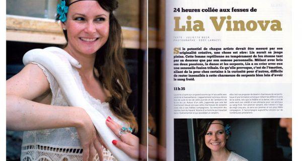 Wyylde_24h collée aux fesses de LIA VINOVA - Photos ©Eddy Lamazzi